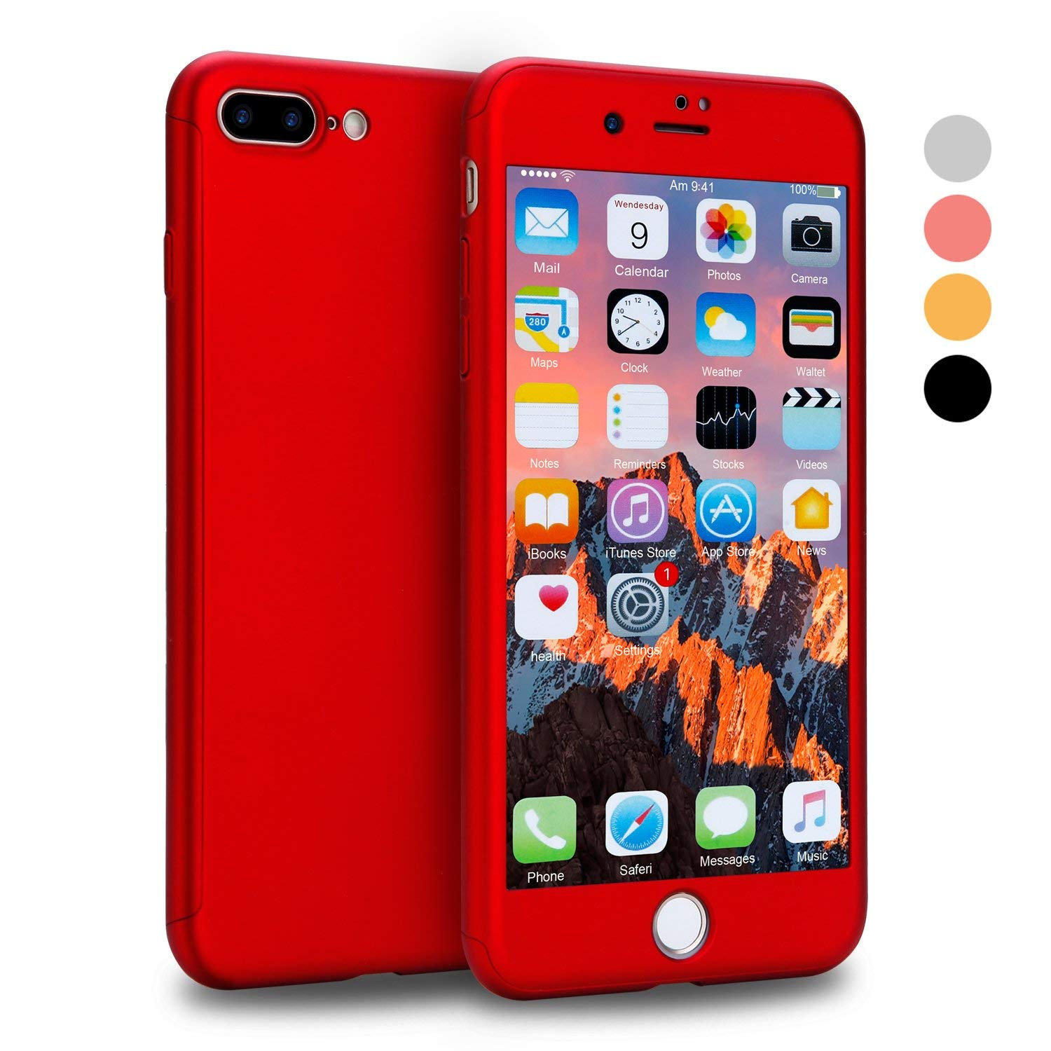 Apple iPhone 6 (4.7'') Hard Matte Cover